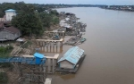 Jarang Hujan, DAS Katingan Makin Surut