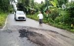 Keluhan Kerusakan Jalan Lingkar Kota Direspons Dinas PUPR Barito Utara