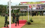 Bupati Lamandau Tutup Karya Bakti TNI