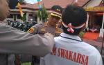Polres Bartim Maksimalkan Kesiapan Pengamanan Pemilu 2019 Melalui Apel PAM Swakarsa