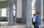 Bupati Barito Utara Tinjau Pembangunan Islamic Center