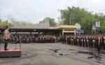 Polres Kotim Gelar Apel Penggeseran Pasukan Pengamanan TPS