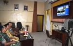 Wakil Bupati Kapuas Ikuti Video Conference Rakor Kesiapan Akhir Pengamanan Pemilu 2019