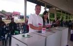 Bupati Gunung Mas Terpilih Nyoblos di TPS 26 Kuala Kurun