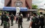 Polri TNI Solid Amankan Perayaan Paskah di Sampit