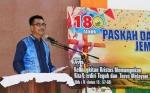Wakil Bupati Barito Utara Hadiri HUT ke-180 GKE