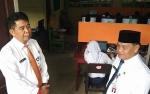 Sekda Pantau Pelaksanaan UNBK SMP di Kotim