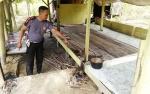 Diduga Alami Ganguan Jiwa Pria ini Coba Lakukan Pembakaran