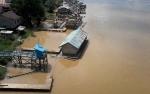 Debit Air Sungai Katingan Kembali Pasang