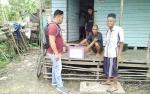 Sat Resnarkoba Polres Pulang Pisau Beri Bantuan Kepada Buruh Tani Miskin