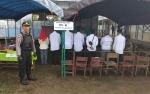 Polisi Amankan Pemungutan Suara Lanjutan di TPS 01 Desa Mampai