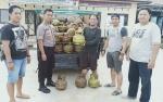 Jajaran Polsek Dusun Selatan Amankan Pikap Pengangkut Gas Elpiji 3 Kilogram