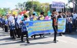 Kafilah Barito Utara Ikuti Pawai Taaruf STQ Provinsi Kalimantan Tengah 2019