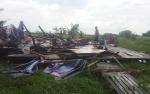 Puting Beliung Rusak 6 Bangunan, 1 Warga Terluka di Desa Cemara Labat