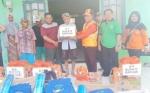 BPBD Kapuas Salurkan Bantuan kepada Korban Angin Puting Beliung di Cemara Labat