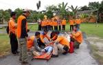 BPBD Kobar Peringati Hari Kesiapsiagaan Bencana dengan Simulasi Evakuasi