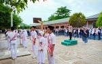 Polwan Palangka Raya Ajak Siswa Teladani Semangat Juang RA Kartini