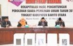 KPU Barito Utara Laksanakan Rapat Pleno Terbuka