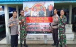 TNI-Polri Kampanyekan Jaga Pancasila dan Keutuhan NKRI kepada Warga Kapuas