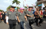 Sekda Kalteng Ikut Jalan Santai Peringati Hari Buruh