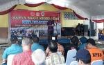 Wakil Bupati Kapuas Respons Positif Karya Bakti Kesehatan Lanal Banjarmasin