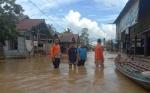 Ribuan Kepala Keluarga di Kecamatan Banama Tingang Terimbas Banjir