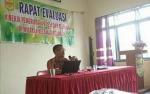 Pemerintah Kecamatan Rungan Gelar Rakor dan Evaluasi Pemerintahan Desa