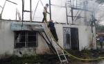 Pemadaman Kebakaran Rumah di Sampit Libatkan Empat Mobil Damkar