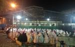 Umat Muslim Sampit Padati Sejumlah Masjid di Malam Pertama Salat Tarawih