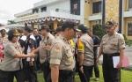 Kapolres Palangka Raya Ingatkan Personel Tetap Semangat Bertugas Meski Puasa