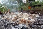 Sebuah Rumah Ludes Terbakar di Desa Sriwidadi Mantangai