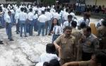 Polisi dan Satpol PP Jaga Pengumuman Kelulusan Siswa SMA di Katingan