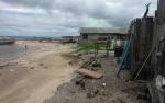 Warga Relokasi Ujung Pandaran Tagih Upah Bongkar Rumah