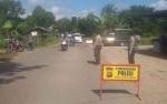 Polsek Kapuas Murung Razia Pengendara di Ruas Jalan Lintas