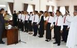 Camat Teweh Tengah Lantik 9 Anggota BPD Desa Pendreh