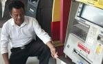 ATM BCA di Jalan Tjilik Riwut Dibobol Maling