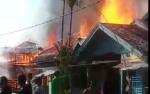 Kebakaran di Bangkuang Hanguskan Enam Rumah Warga