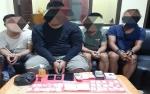 Anggota Polda Kalimantan Tengah Amankan 4 Tersangka Sabu, 1 Orang Ditangkap di Katimpun