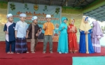 Penampilan Murid TK Darul Aman Saat Safari Ramadan Hibur Masyarakat Tewah