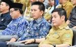 Bupati Barito Utara Hadiri Penyerahan LHP LKPD dari BPK RI