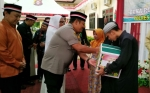 Kapolres Pulang Pisau Santuni Keluarga Petugas KPPS Wafat