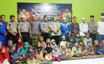 Kapolres Katingan Buka Puasa Bersama Anak Panti Asuhan Al-Khairat