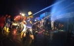 Anggota Polres Palangka Raya Selidiki Kasus Kebakaran di Gang Damai