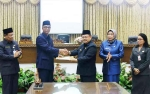 DPRD Serahkan Rekomendasi Terhadap LKPJ Bupati Barito Utara TA 2018