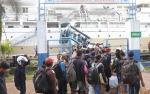 KM Leuser Tujuan Surabaya Angkut 1.644 Pemudik Dari Sampit