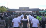 Polres Barito Utara Gelar Apel Pasukan Ketupat Telabang 2019