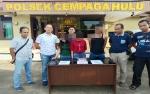 Anggota Polsek Cempaga Hulu Ringkus 1 Pria dan 2 Wanita Pengedar Sabu