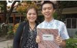 Peraih Nilai UNBK SMP Tertinggi se- Kalteng, Hobi Belajar dan Baca Buku Sains