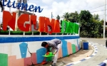 Monumen Panglima Batur Dirusak Tangan Jahil