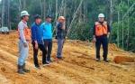 Bupati Barito Utara Uji Coba Jalan Lemo - Simpang Batapah